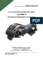 PAN 17 Product Manual 11-2011