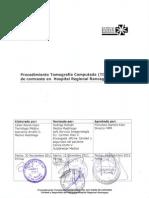 API 1.2.2 - Procedimiento Tomografía Computada (TC) Con Medio de Contraste HRR V0-2011