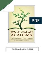AFA StaffBinder 2014 2015