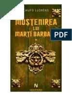 Chufo Llorens Mostenirea Lui Marti Barbany