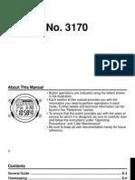 Casio 3170 Steel Watch Manual