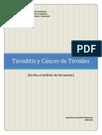 Power Point Tiroiditis y Cáncer de Tiroides