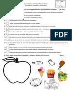 Guía de Educación Física Primero Básico