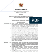 Perda No 4-2014 Tentang RPJMD Kota Banjar 2014-2018