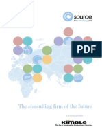 Kimble Consulting Firm of the Future Report 2013