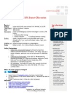 Juniper SRX Branch Series Hot Sheet July 2010