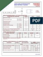 datasheet P0903BDG