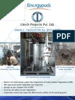 Energypack Small Industrial Boiler