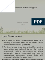 Local Government in the Philippines