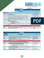 Calendário Academico 2013