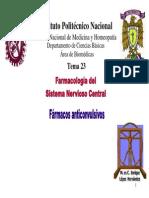 SNC Fármacos anticonvulsivos