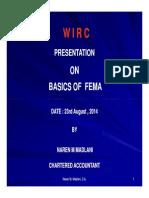 Basics of Fema