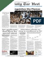 The Daily Tar Heel for September 2, 2014
