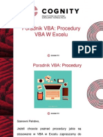 Kurs VBA - Procedury VBA w Excelu Cz.III.pptx