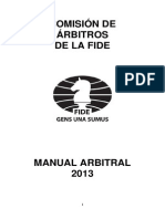 FIDE Arbiters Manual 2013 ESP