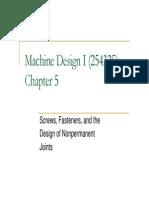 Machine Design i Ch5