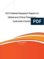 2013 Market Research Report on Global and China Potassium Hydroxide Industry