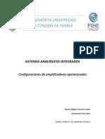 REPORTE Configuraciones OPAMS