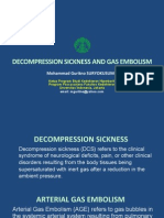 Decompression Sickness - Dr Guritno