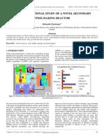 The Computational Study of a Novel Secondary Steelmaking Reactor