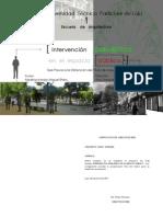 Intervencion Paisajistica en El Espacio Publico-miguel Medina