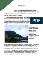 relatório geológico lagoa
