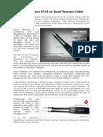 Smart Tweezers ST5S vs Smart Tweezers Colibri