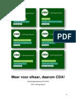 CDA S-Hertogenbosch Programma 2014-2018