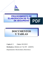 Documentos Plan de Seguridad GDSTI 2014