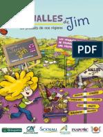 """Livret du Visiteur """"Terres de Jim"""""""