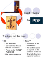 Draft Review Blog Notes