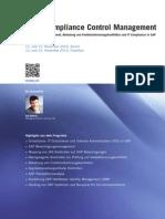 Sap Compliance Control Management