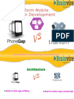 Cross Platform Mobile Application Development- Titanium vs PhoneGap