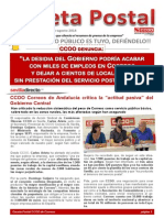 1880061-Gaceta Postal n 1 El Correo Publico Es Tuyo, Defiendelo