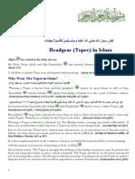 Headgear Topee in Islam