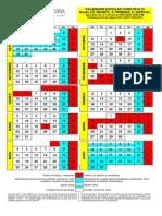 Calendari Escolar 2014-2015 Tots Els Nivells