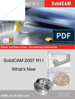 Whats New in SolidCAM2007 R11