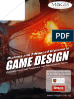 Diploma and Advanced Diploma in Game Design