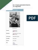 René Goscinny. El Gran Guionista Francés Que Nació en Argentina