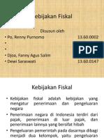 PI Kebijakan Fiskal