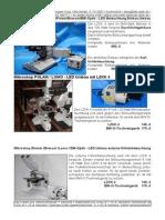 PZO Biolar Mikroskope LED