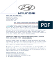 Hmil- Hyundai Motors India Interview Call Letter - 15th of June 2014