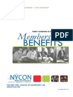 Member Benefits Booklet 2010 1Q