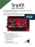 Spider Robot Controller Datasheet