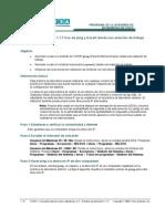 1.1.6 Diagnóstico de problemas básicos de red