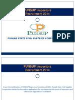 Punsup Recruitment 2014