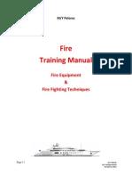 Fire Training Manual - SOLAS
