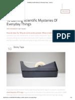 10 Baffling Scientific Mysteries of Everyday Things - Listverse