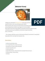 Resep Kimchi Dan Sayur
