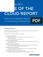 RightScale 2014 State of the Cloud Report
